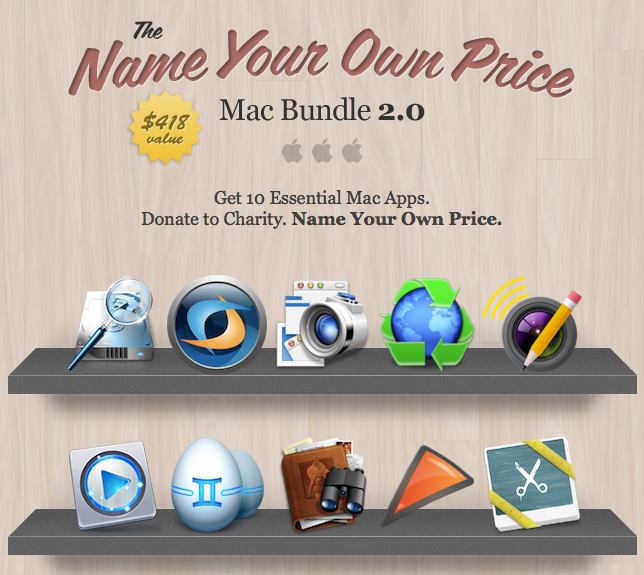 here is the screenshot to the Stacksocial NYOP Mac Bundle 2.0