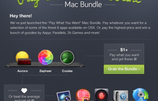 here is the Screenshot of the Pay What You Want Mac Bundle