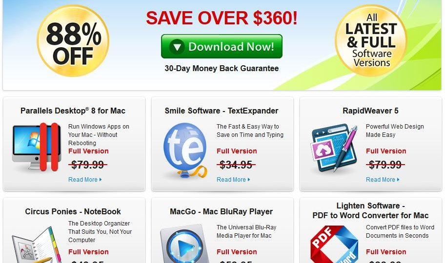 Screenshot for Mac Super Bundle Spring 2013