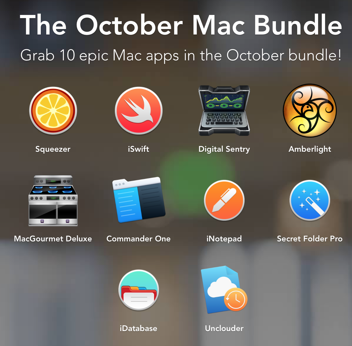 Screenshot Mac October Bundle