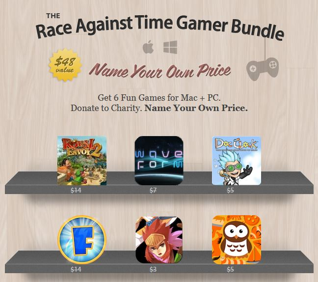 here is the screenshot of the Race-Against-Time Gamer Bundle