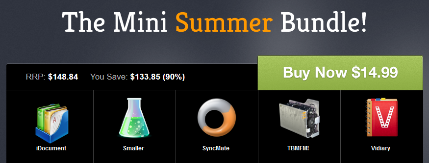 here is the Screenshot to the Mini Summer Mac Bundle