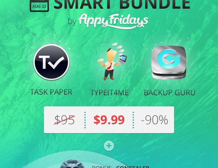 AppyFridays Smart Bundle 160813