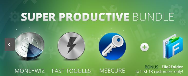 here is the Screenshot of the AppyFridays Super Productive Bundle