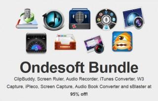 here is the Screenshot of the Ondesoft Mac Bundle