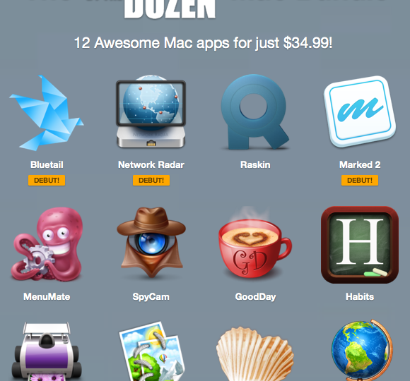 hier ist der Screenshot zum Cheaper By The Dozen Bundle
