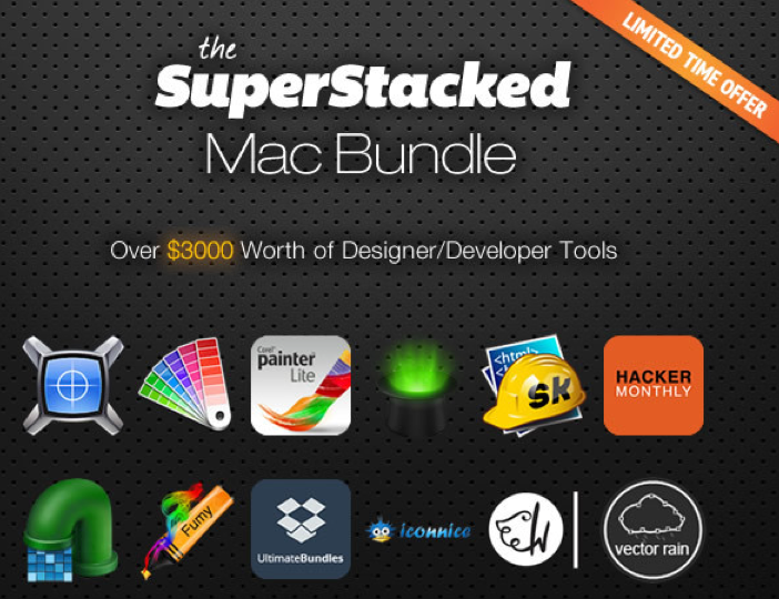 Screenshot SuperStacked Mac Bundle