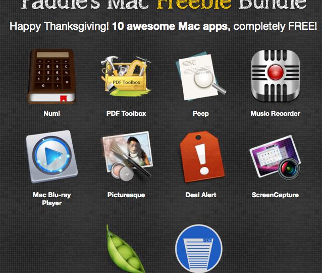 Screenshot Paddle Mac Freebie Bundle