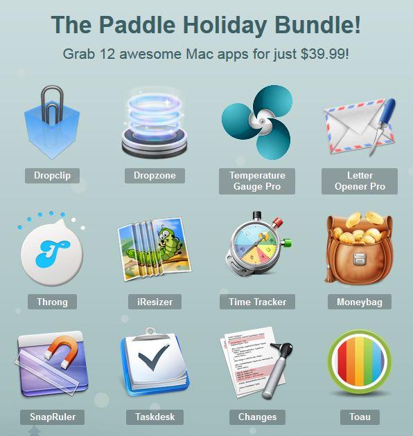 Screenshot Paddle Holiday Bundle