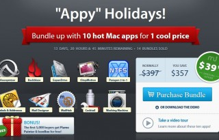 Screenshot MacUpdate Appy Holidays Bundle