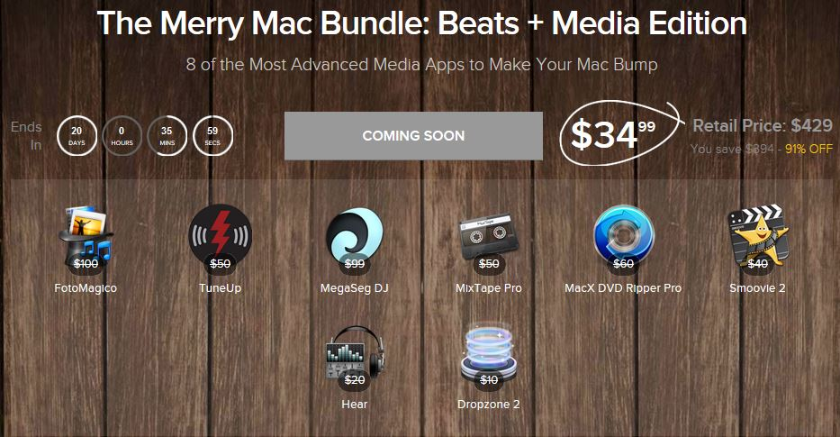 Screenshot Merry Mac Bundle