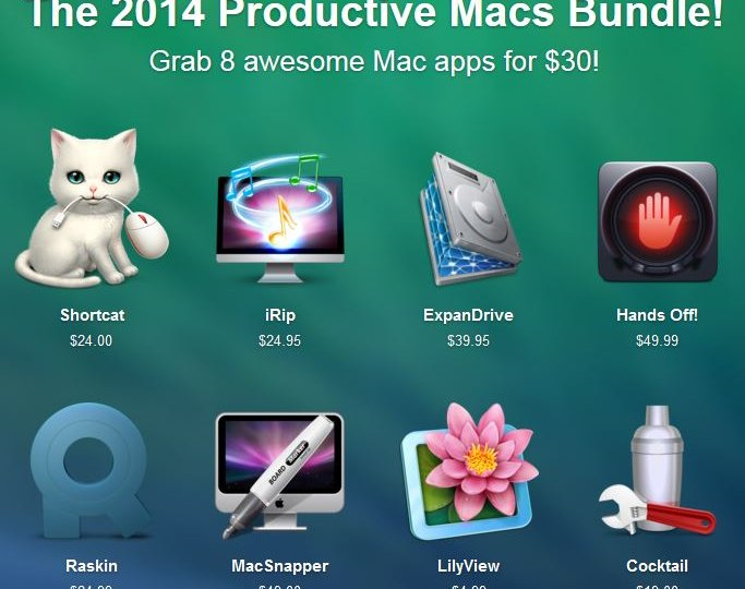 Screenshot 2014 Productive Macs Bundle