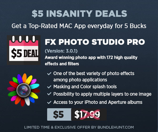 Photo $5 Insanity Deals