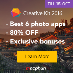 Photo MacPhun Creative Kit 2016