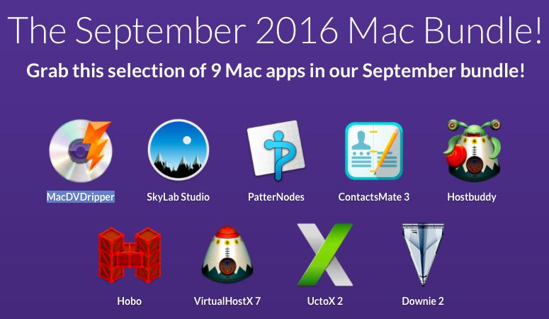 Photo September 2016 Mac Bundle