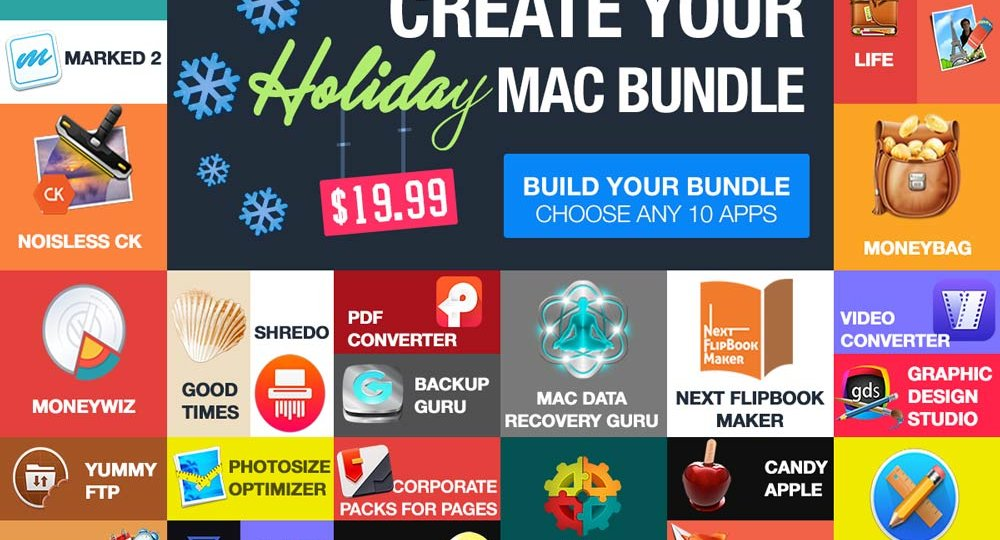 Photo Bundlehunt Holiday Mac Bundle