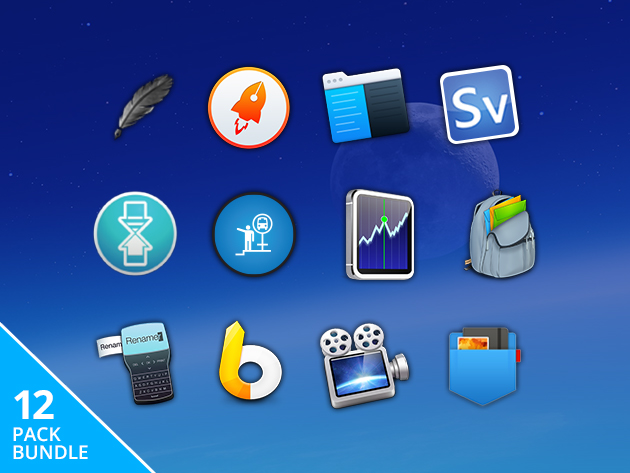  Pay What You Want 2017 Superstar Mac Bundle with 12 apps
