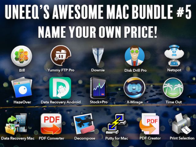 Photo Uneeq's Awesome Mac Bundle