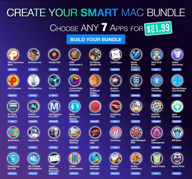 Photo Smart 7 App Mac Bundle