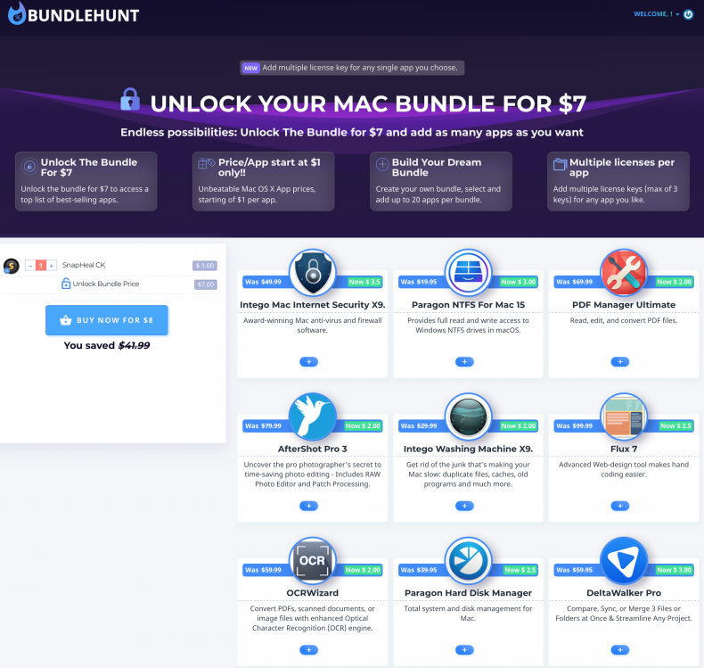 Photo Bundlehunt Unlock Your Mac Bundle