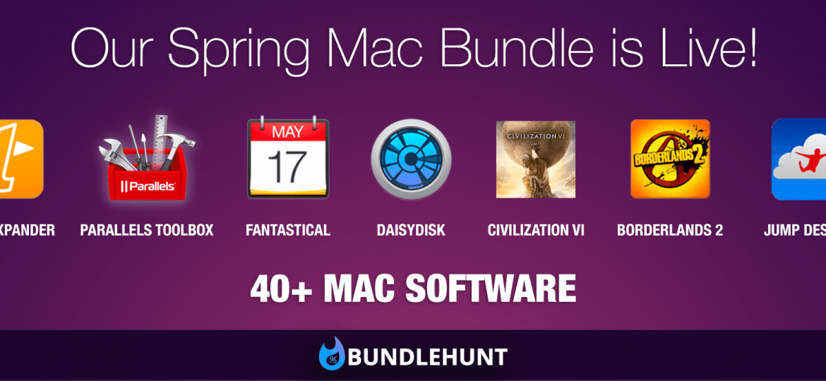 Photo Bundlehunt Spring Mac Bundle