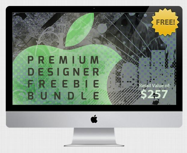 Hier ist der Screenshot zum Premium Designer Freebie Bundle
