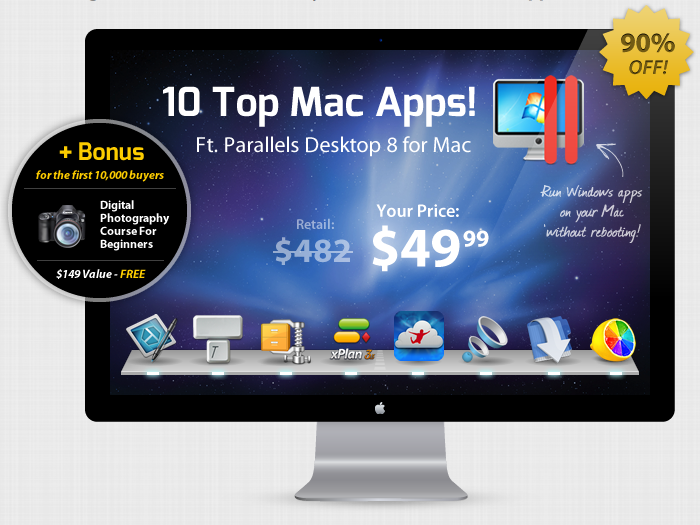 here is the Screenshot of the Summer 2013 Mac Bundle