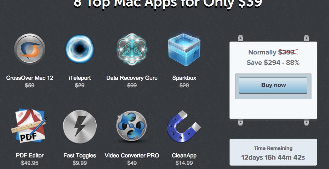Screenshot Macbundler Summer Bundle