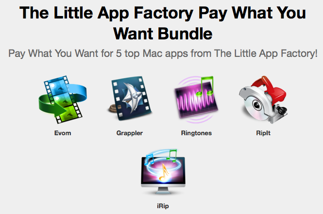 here is the screenshot of the Little App Factory Bundle
