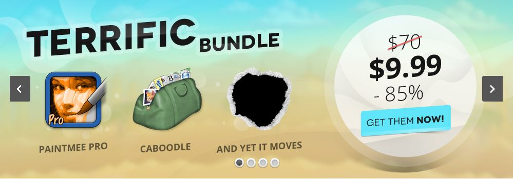 here is the Screenshot of the Get Terrific Bundle