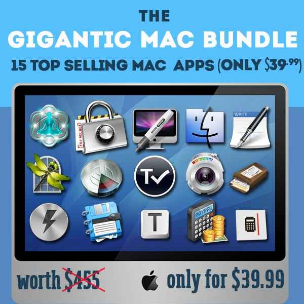 here is the Screenshot of the Gigantic Mac Fall Bundle