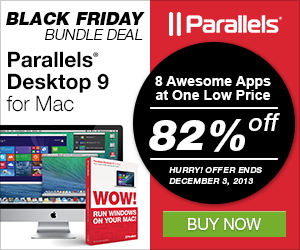 Banner Parallels Black Friday Bundle