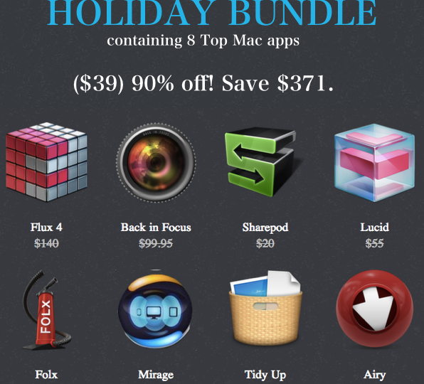 Banner Macbundler Holiday Bundle