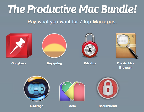 Screenshot Paddle Productve Mac Bundle