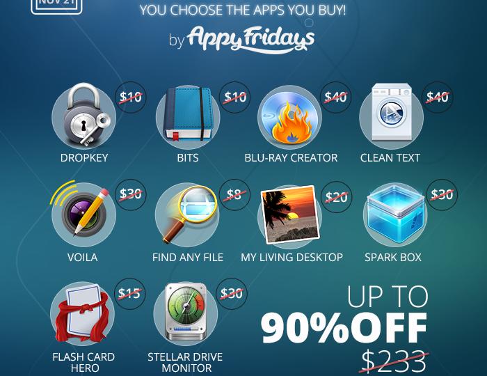 Screenshot Unlimited Bundle AppyFridays