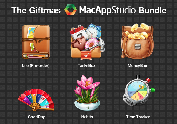 Screenshot MacAppStudio Giftmas Bundle