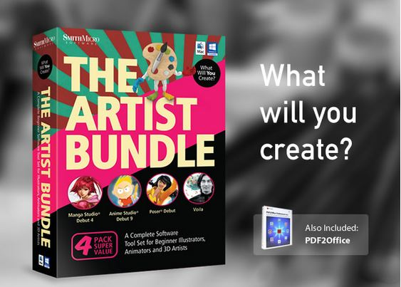 Screenshot Digital Artist Mac Bundle