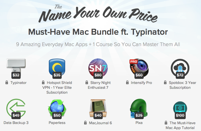 Photo NYOP Must-have bundle