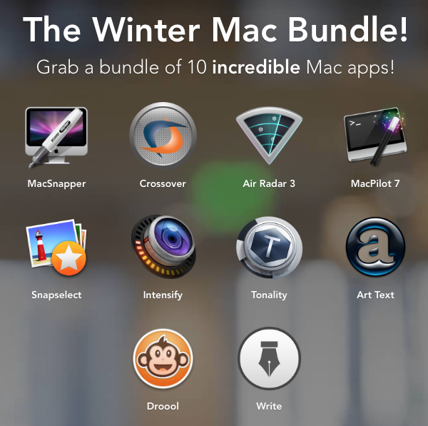 Photo Winter Mac Bundle