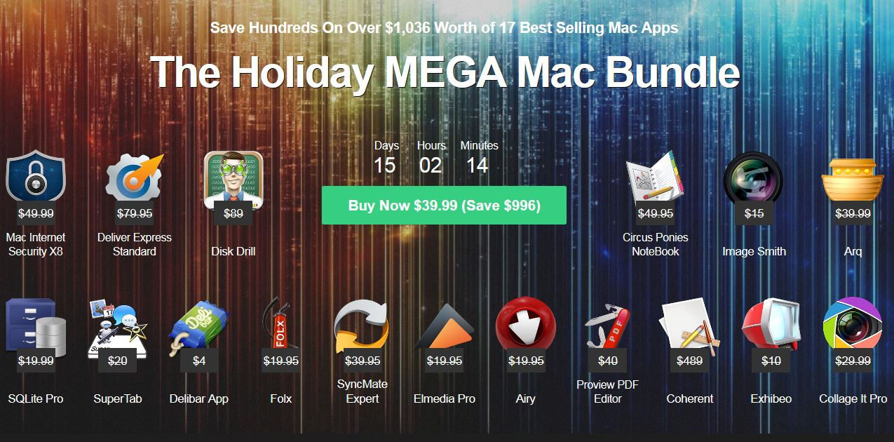 Photo Holiday Mega Mac Bundle