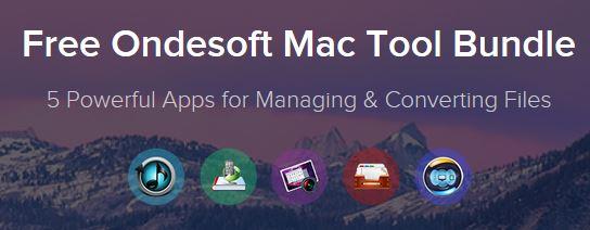 Photo Free Ondesoft Mac Tool Bundle