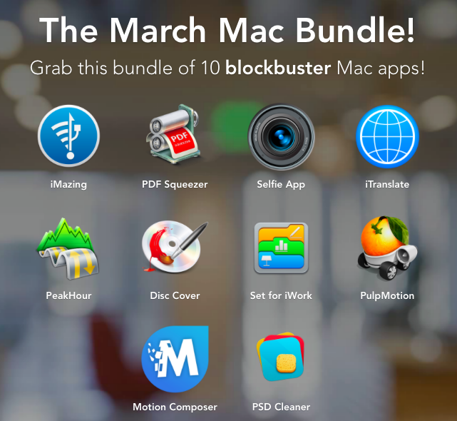 Photo March Mac Bundle