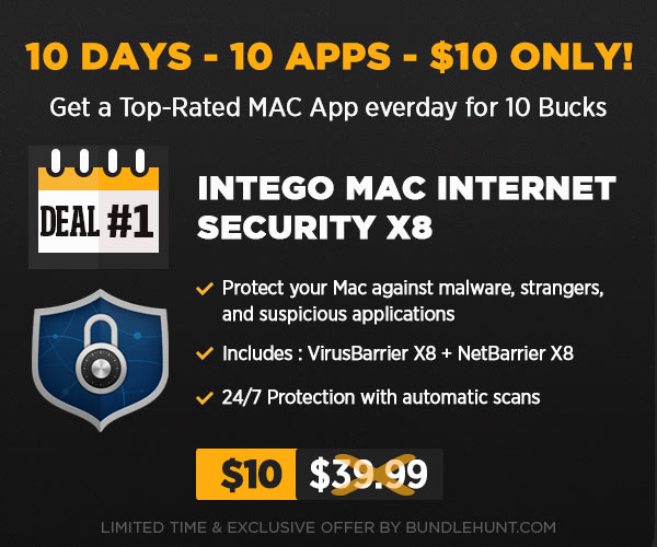 Photo Intego Mac Internet Security Bundle X8