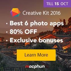 Photo MacPhun Creative Kit 2016