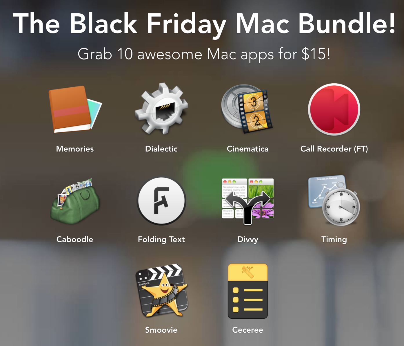 Photo creatable.co Black Friday Mac Bundle