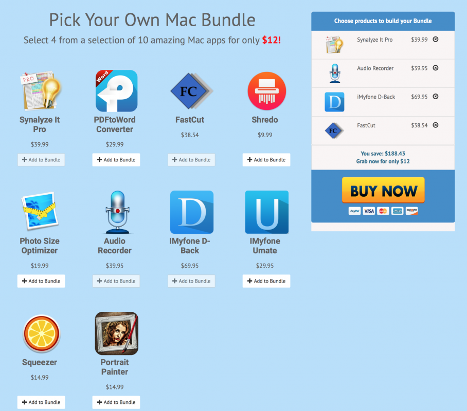 Photo Bundlefox Pick Your Own Mac Bundle