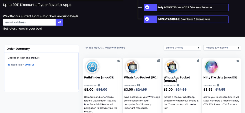 Screenshot Bundlehunt Unlock Bundle 2020