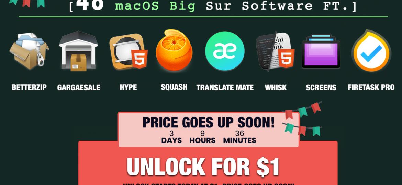macOS Big Sur Bundle from Bundlehunt